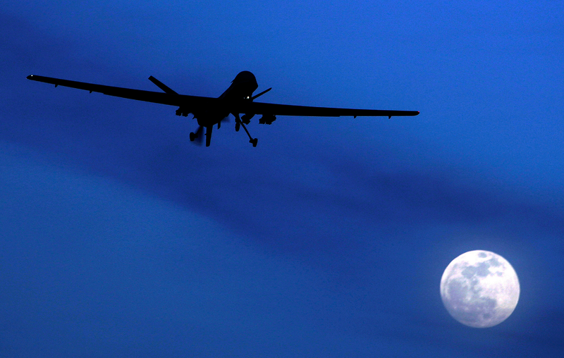 What It's Like to Be Hit By a Drone Strike