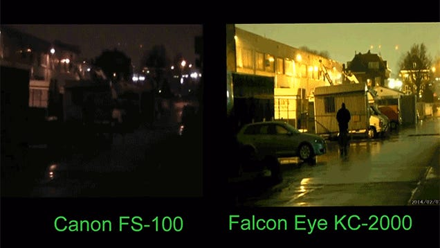 A Revolutionary Night Vision Camera That Lets You See in Full Color