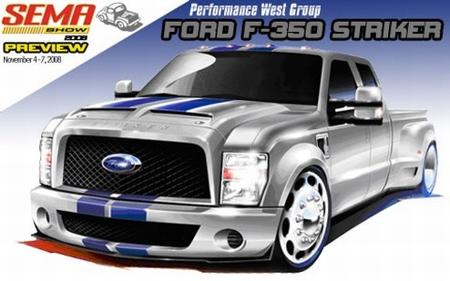 SEMA 2008: Hulst Customs Ford F-350 Striker, When Buying A Diesel Dually Isn't Manly Enough