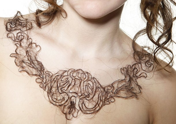 Human Hair Necklaces. Why?