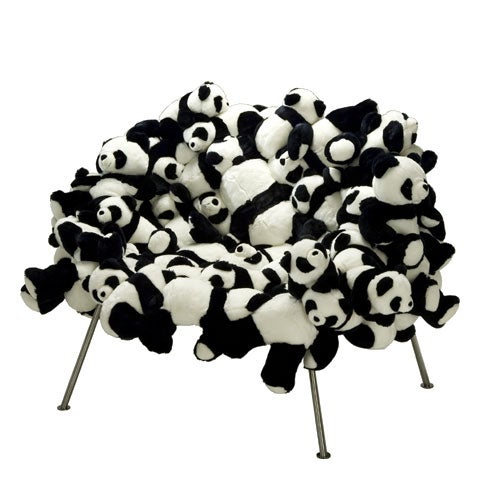 $75,000 Chair is Made of Pandas. PANDAS!