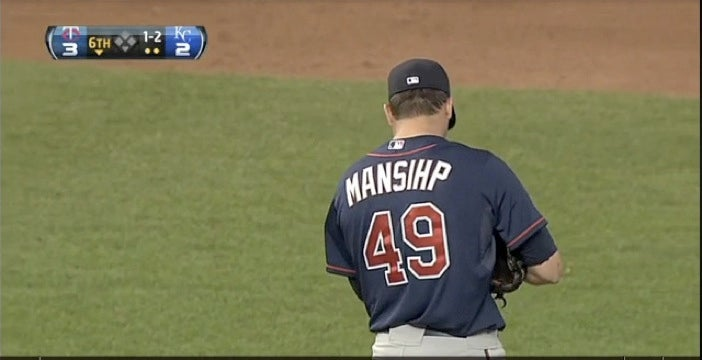 The Twins Couldn't Even Give Jeff Manship A Jersey With His Name Spelled Correctly