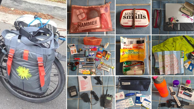 The Cycling Commuter's Daily Bag