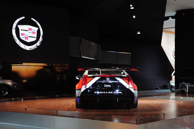 Cadillac CTS-V Racer: Live Photos