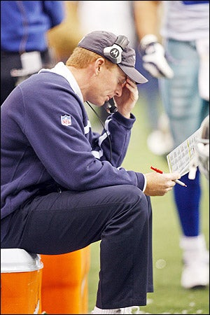 Jason Garrett Realizes It Might Actually Be Colder In The Big D