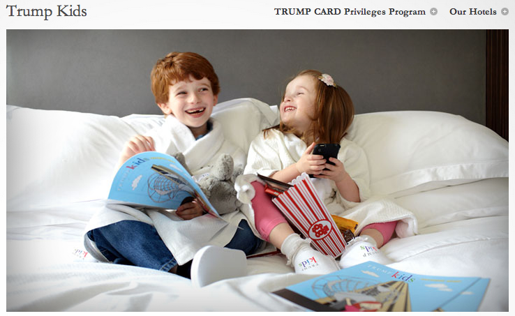 Donald Trump Offers Treats to Little Kids Who Go to His Hotel