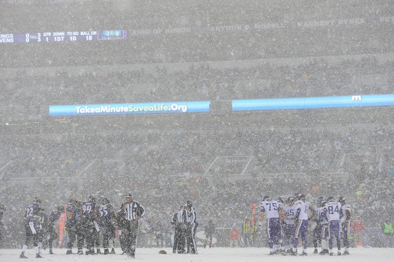 Nothing Is Better Than Football In The Snow