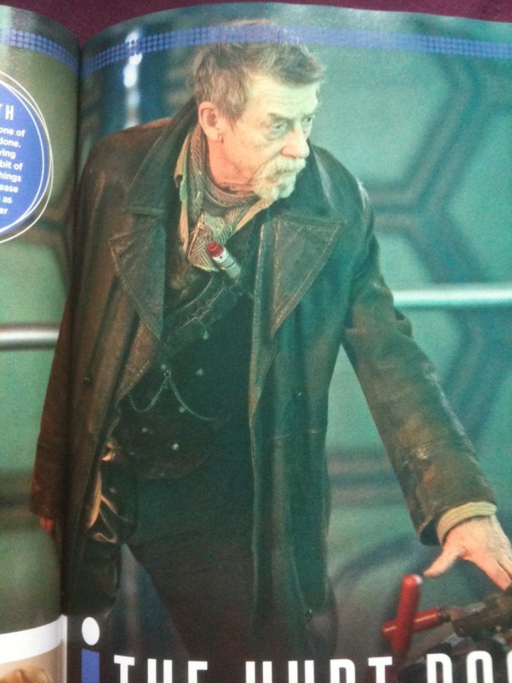 New pics from SFX magazine give a teeny peek at The Day of The Doctor