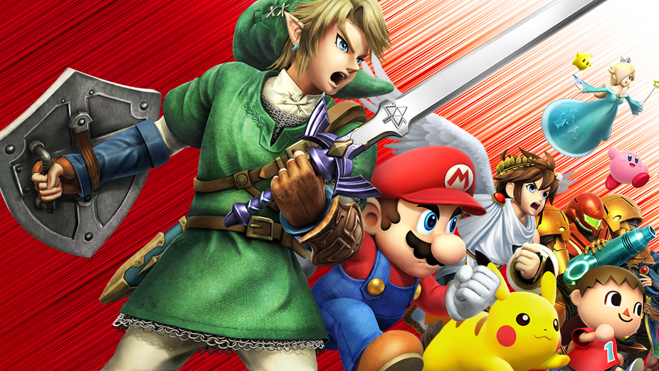 Watch The First Ever Smash Bros. Wii U Tournament Live [Done!]