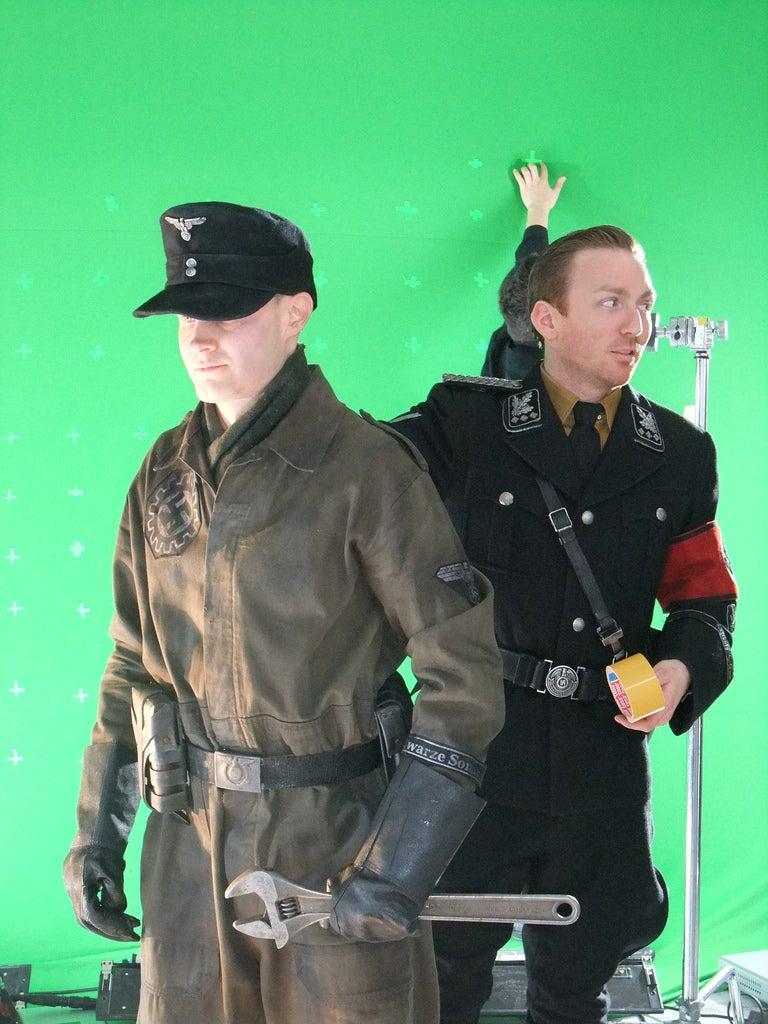 """First Glimpse Of Space Nazis In """"Iron Sky"""""""