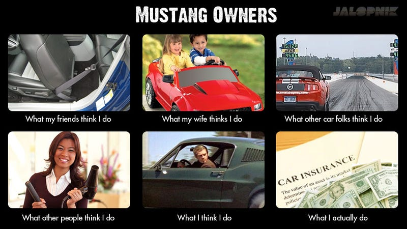 What People Think Ford Mustang Owners Do