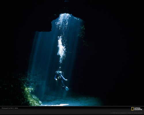 R.I.P. Wes Skiles, the photographer who captured the forbidding beauty of underwater caves