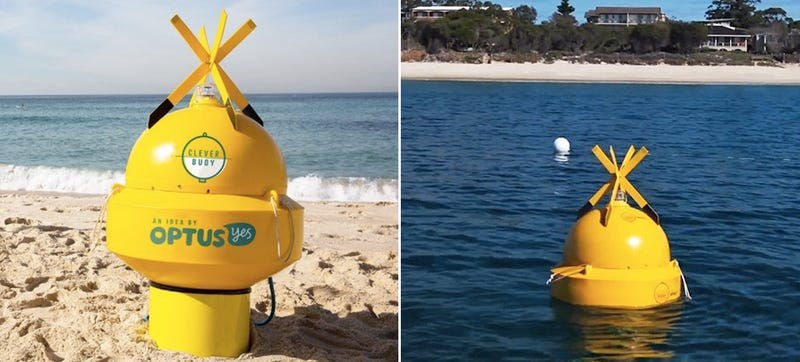 Sonar Buoys Help Spot and Recognize Sharks Before It's Too Late