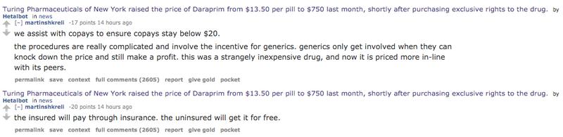 Pharmaceutical Greed Villain Martin Shkreli Will Fight the Whole Internet