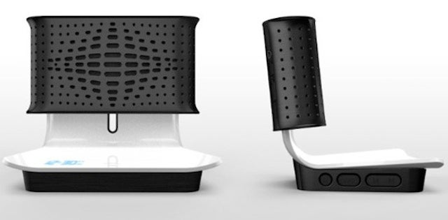 A Two-Piece Speaker Dock So Gorgeous That You'll Overlook Its Price