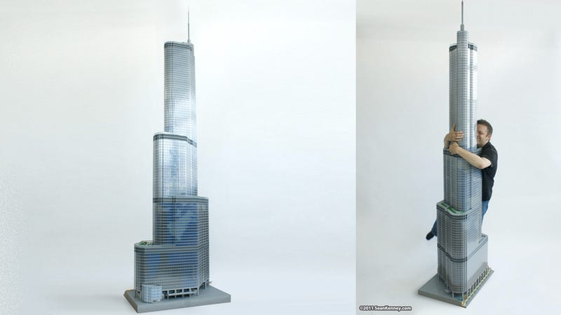 10-foot, 65,000-piece Lego Trump Tower Looking for 45,000-piece Lego King Kong. Contact: hot-lego-tower69@hotmail.com