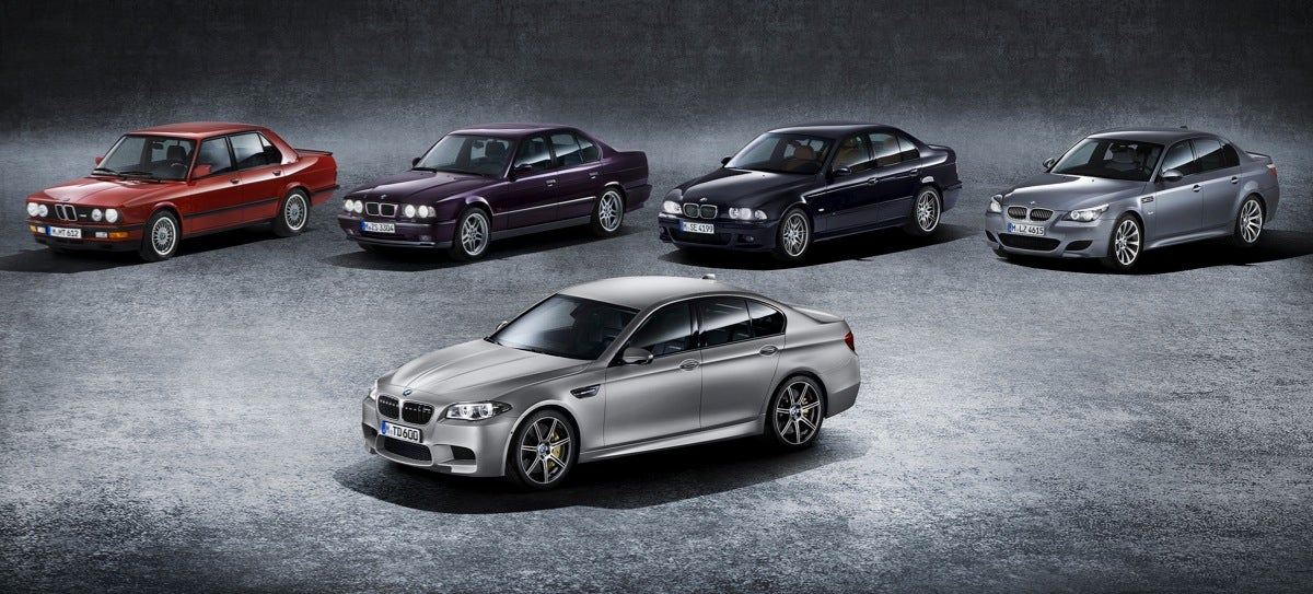 The 2015 BMW M5 30th Anniversary Edition Is The Most Powerful BMW Ever