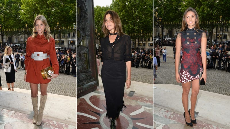 What Celebrities Wore to This Week's Couture Shows