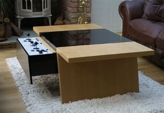 Coffee Table Makes Retro Gaming a Contemporary Experience