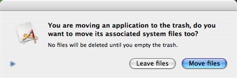 Uninstall programs with AppTrap