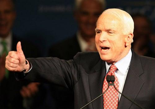 John McCain: Cranky Old Jerk Who Hates Gay People