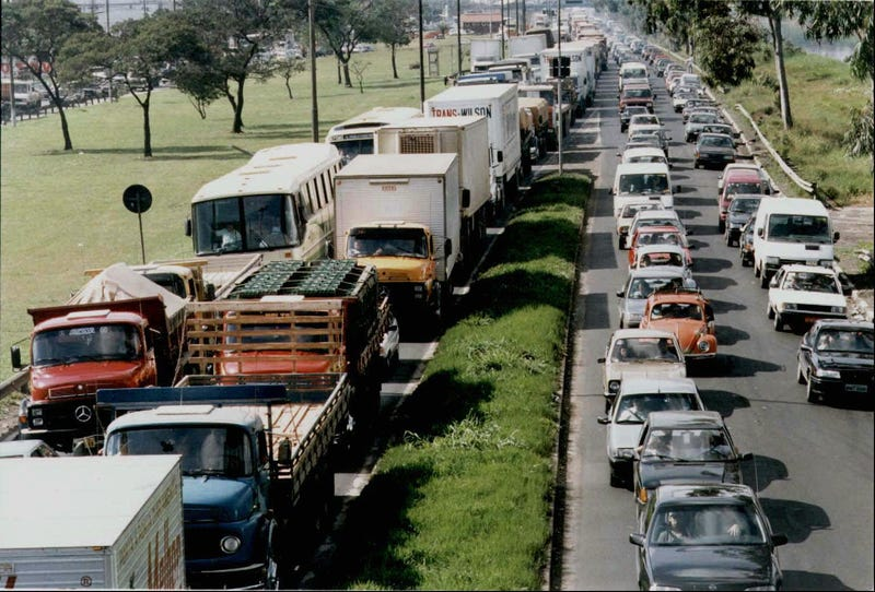 5 of the Worst Traffic Jams in History