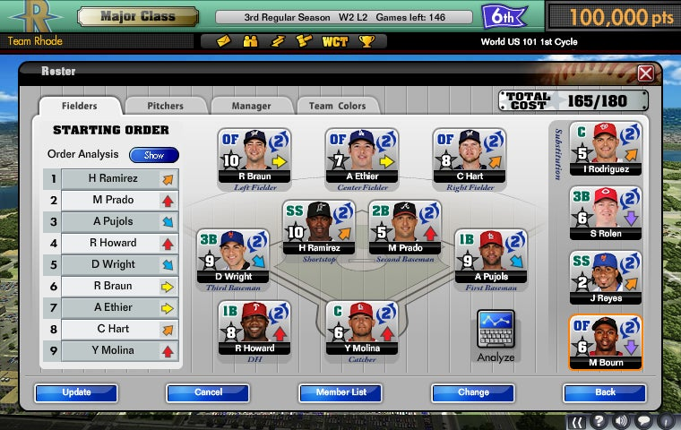 Major League Baseball Management Sim Goes Live In March