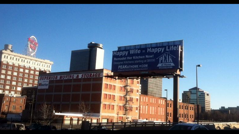 Billboard Spotting: Keep Your Wife Happy with a Kitchen Remodel