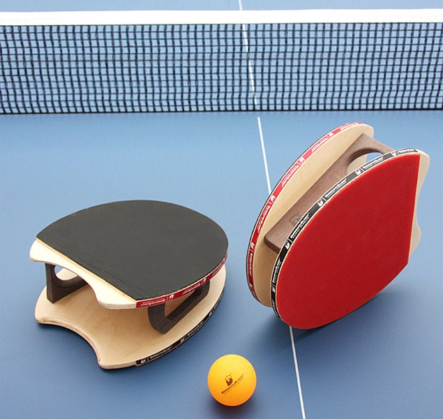 Brodmann Blades Ping Pong Paddle Puts the Game In the Palm of Your Hand