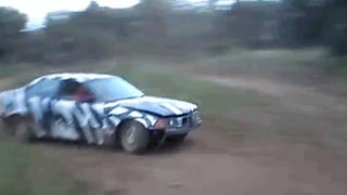 Here's A BMW E36 Tearing Up A Field