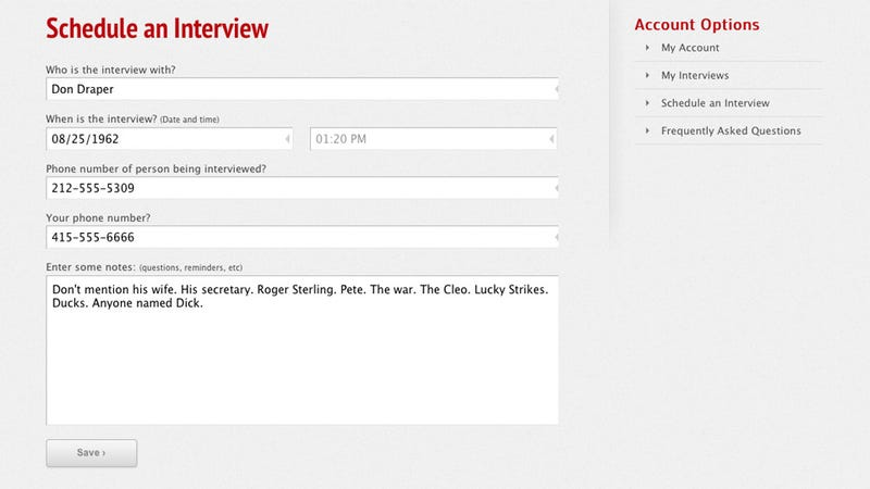 TheInterviewr Records, Schedules Your Interviews and Other Phone Calls