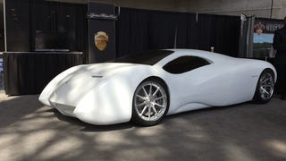 Why Lyons Motor's lumpy foam non-car is my favorite New York debut