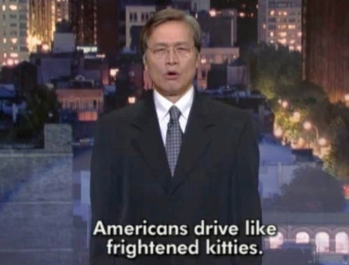 "Fake Akio Toyoda Calls Americans ""Frightened Kittens"" On Letterman"