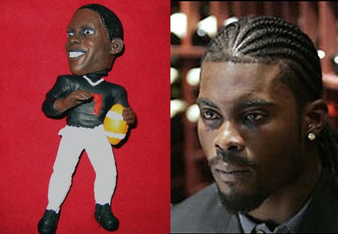 Michael Vick Dog Chew Toy: Payback's a Bitch
