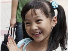 Even The Little Girls In China Are CGI-Enhanced
