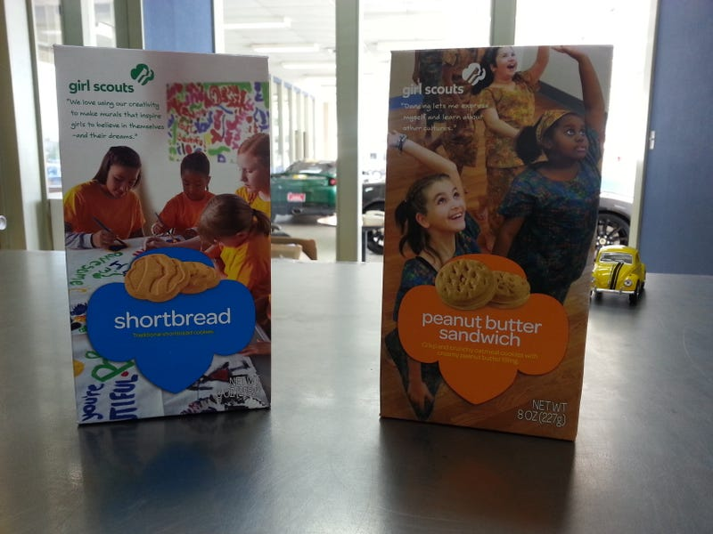 Girl Scout Cookies have arrived. (Torchinsky post preview)