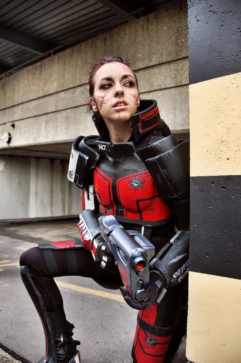 This Week's Cosplay Stars Deus Ex, Mass Effect, Zelda and Adventure Time