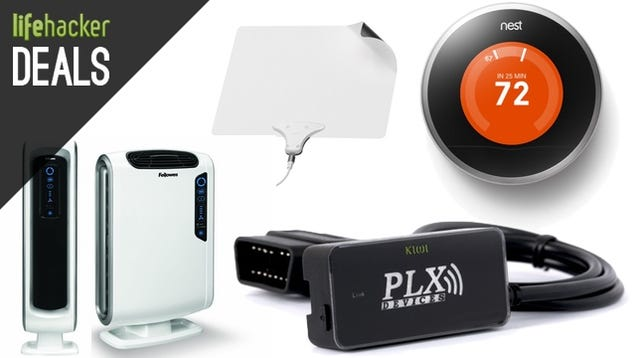 A Cord Cutter's Starter Kit, Nest Thermostat, True HEPA Purifiers