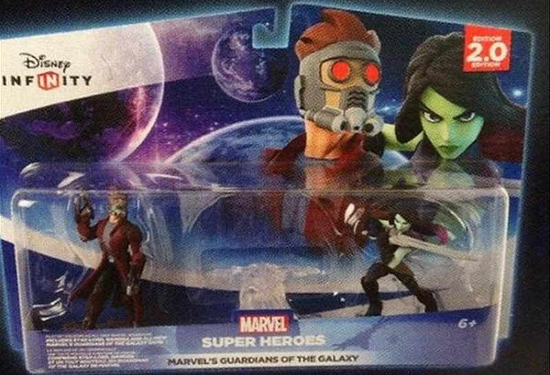 Disney Infinity Star-Lord and Gamora Figures