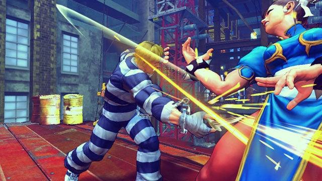 New Super Street Fighter IV Screens Take To Chun-Li's Face