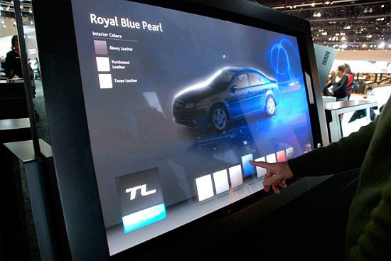 Detroit Auto Show: Acura Puts Design in the Hands of the Consumer at 2008 Auto Shows