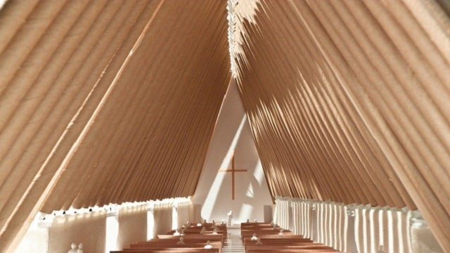 New Zealand Plans to Build a Recyclable Church