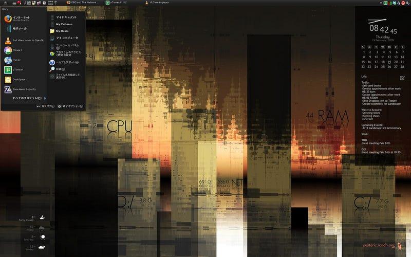 The Ultimate City Desktop