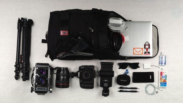 The Software Development and Camera Combo Bag