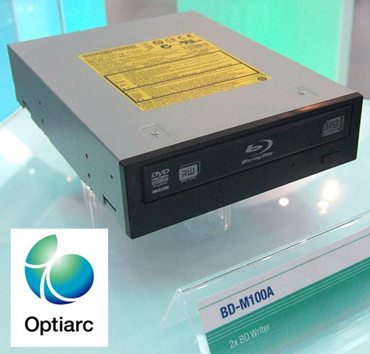 Sony/NEC's Optiarc Busts Out Five Blu-ray Burners at CeBIT, No HD DVDs in Sight