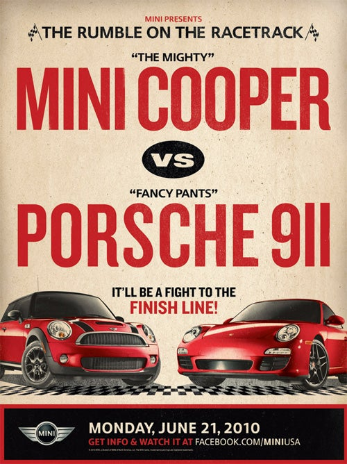 Porsche Refuses To Race Mini