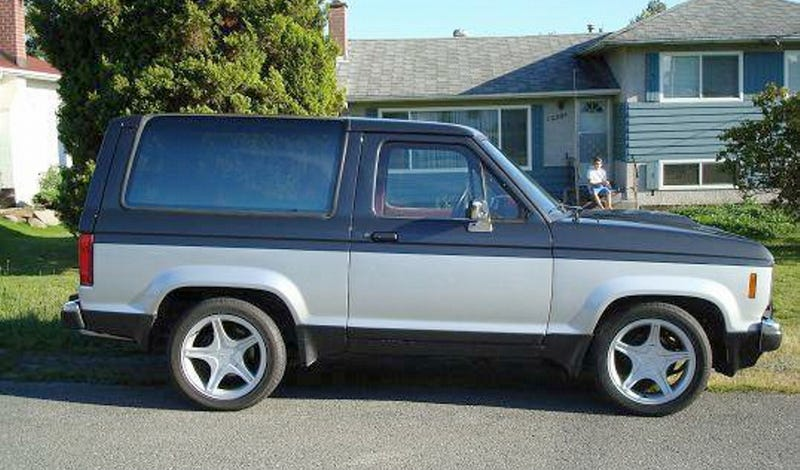 For $4,400, Bronco II, Boredom Zero