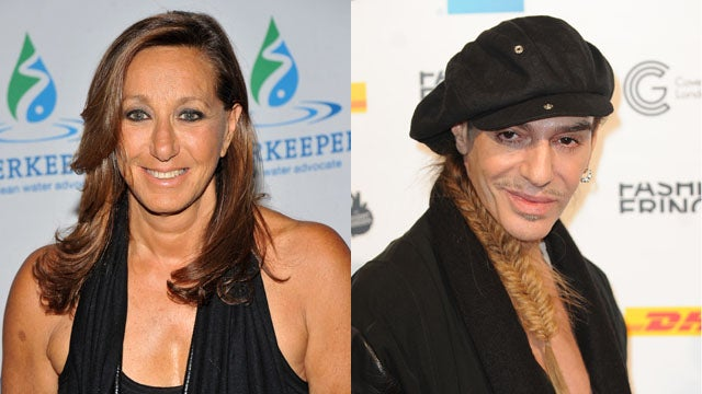 Donna Karan Kicks Off the Fashion Industry Defending John Galliano Tour