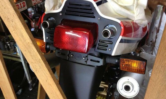 Barn find... Two wheels version