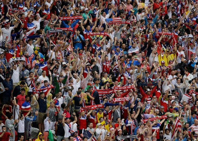 Scenes From America's Triumphant Loss To Germany